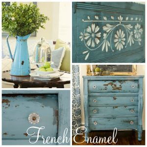French Enamel - Miss Mustard Seed Milk Paint