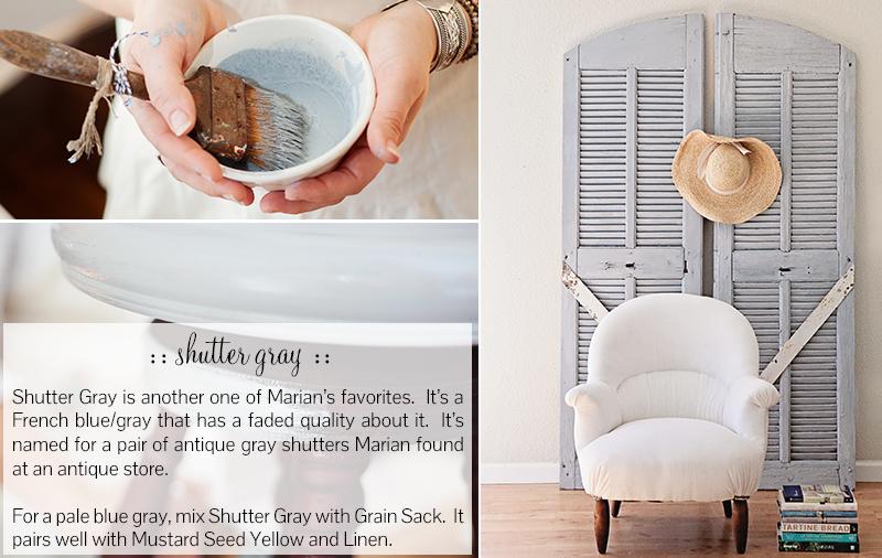 Shutter Gray - Miss Mustard Seed Milk Paint