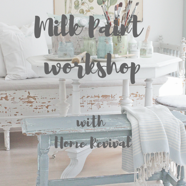 Milk Paint workshop
