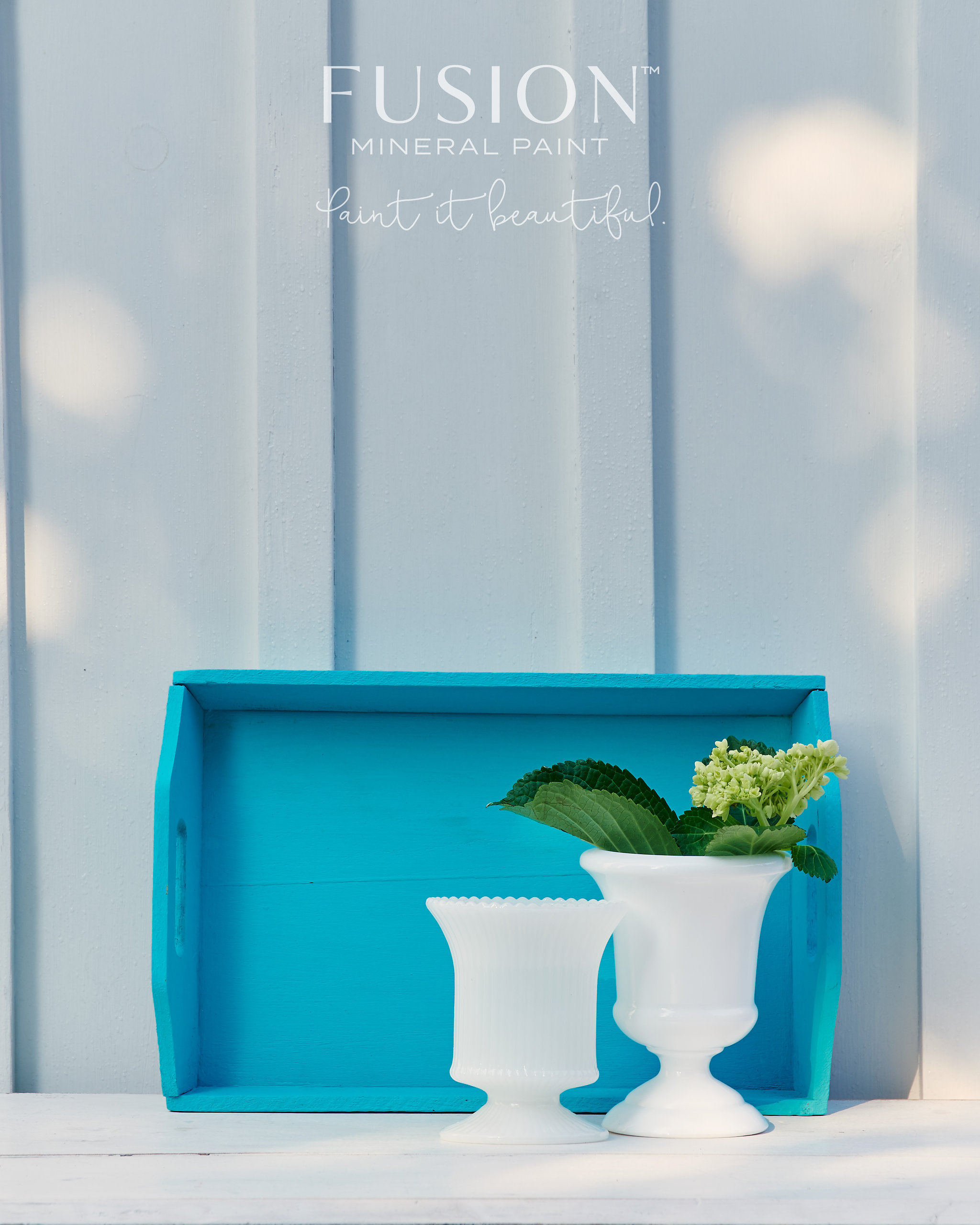 Fusion Mineral Paint Penney & Co Azure