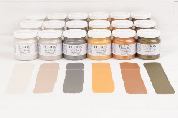 Metallic project pot - Fusion Mineral Paint