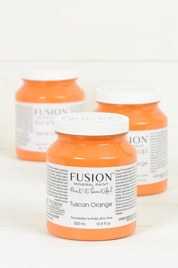 Fusion Mineral Paint Tuscan Orange