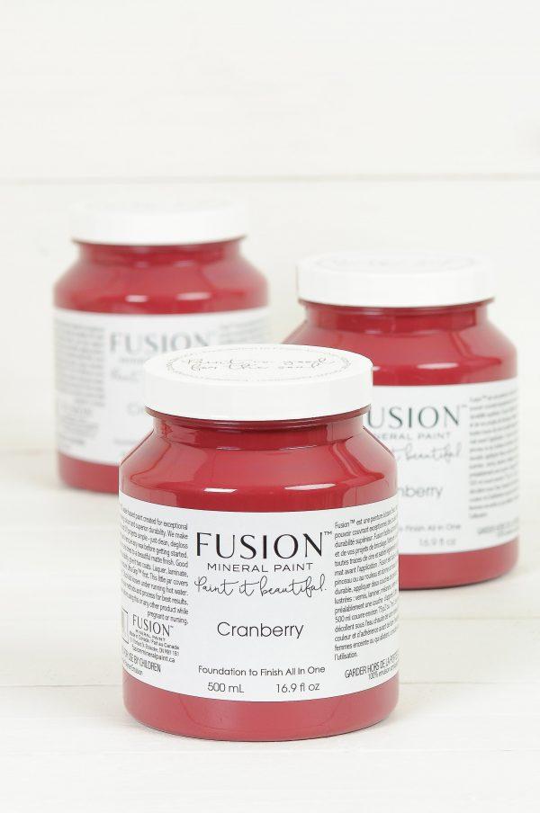 Fusion Mineral Paint Cranberry