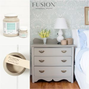 Fusion Mineral Paint Penney & Co Linen