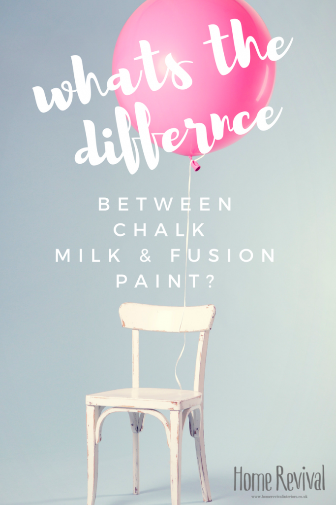 What S The Difference Milk Paint Chalk Paint Amp Mineral