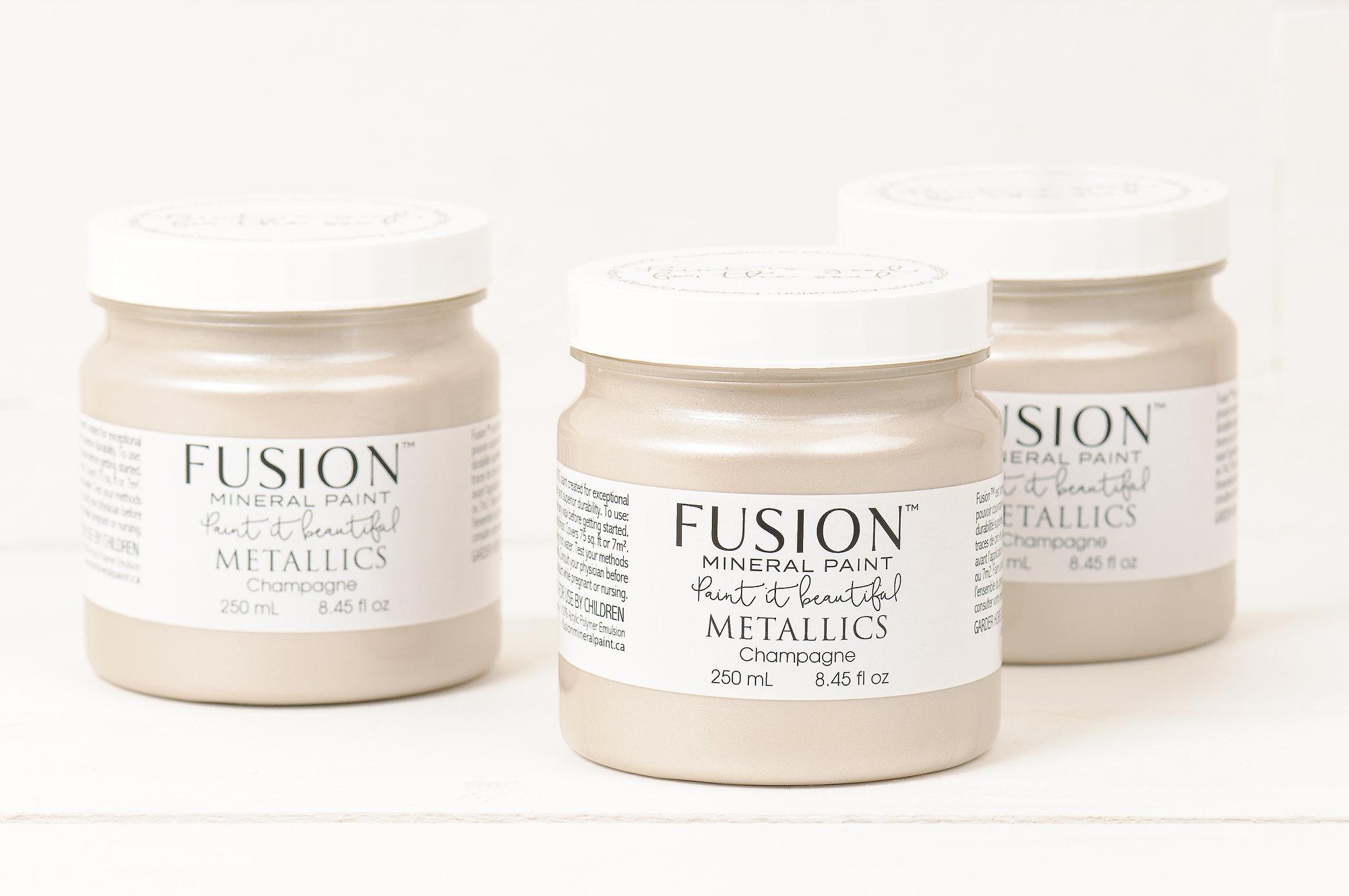 Fusion™ Metallics Champagne