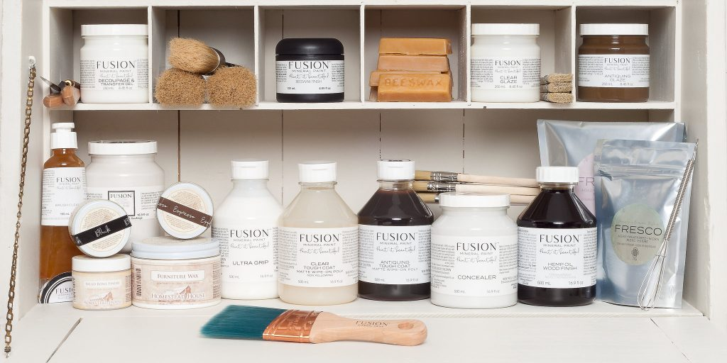 Some of the products available from Fusion
