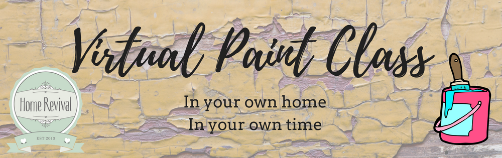 virtual paint class learn to paint at home home revival interiors. Black Bedroom Furniture Sets. Home Design Ideas