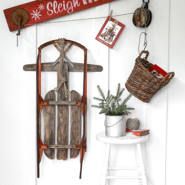 Create a Christmas sign workshop