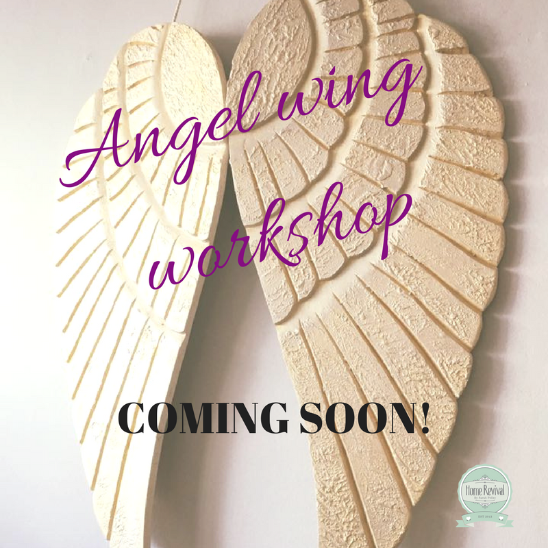 Angel Wings workshop Perfect Christmas gift.