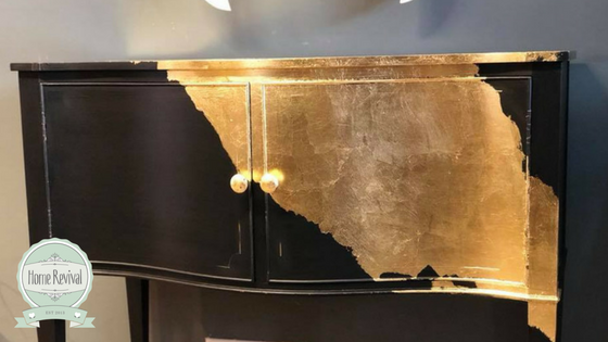 How to Gold Leaf the easy way.