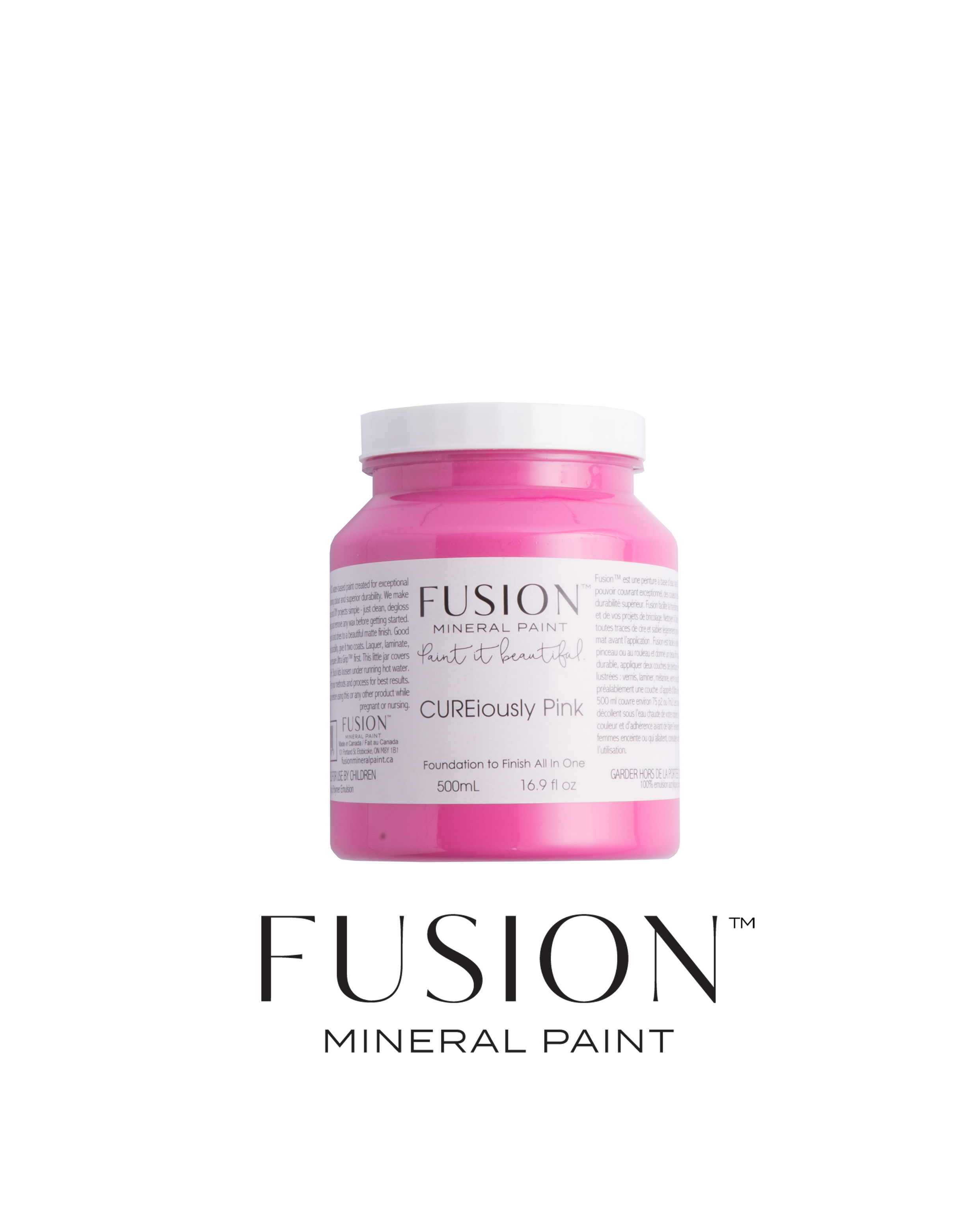 CUREiosly Pink Fusion Mineral Paint