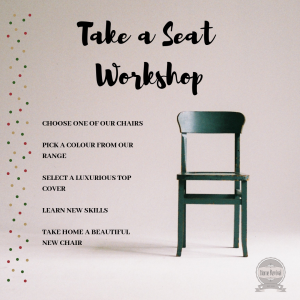 Take a Seat Workshop