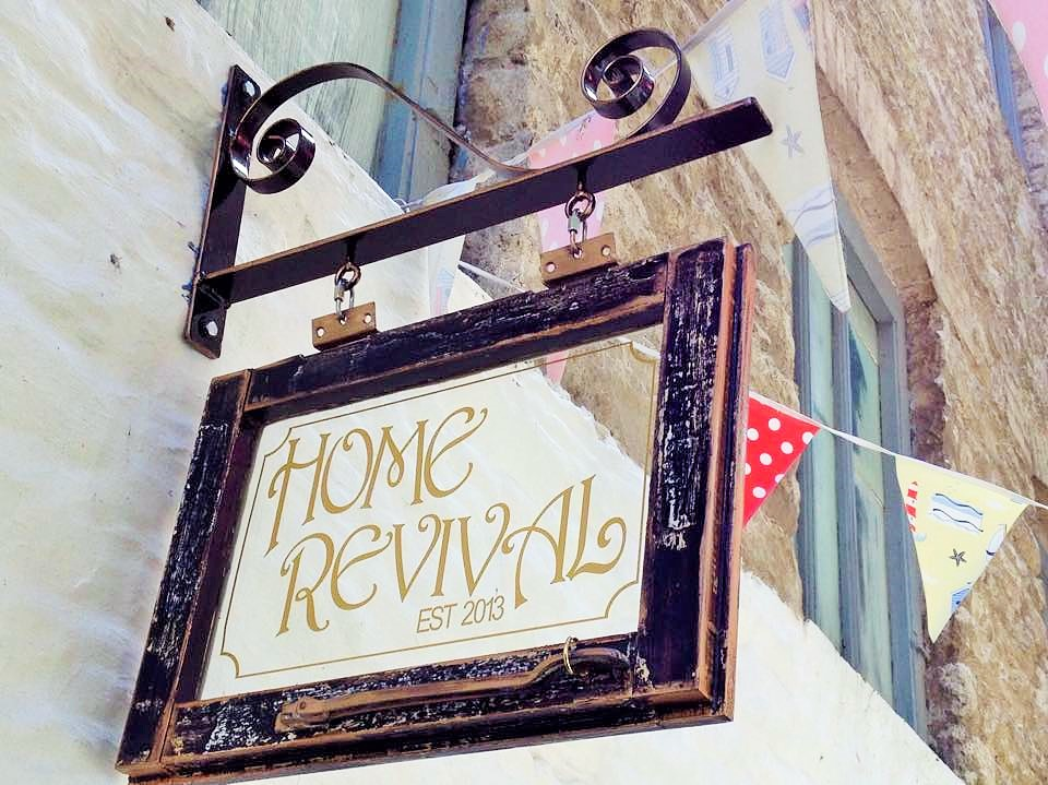 Home revival sign