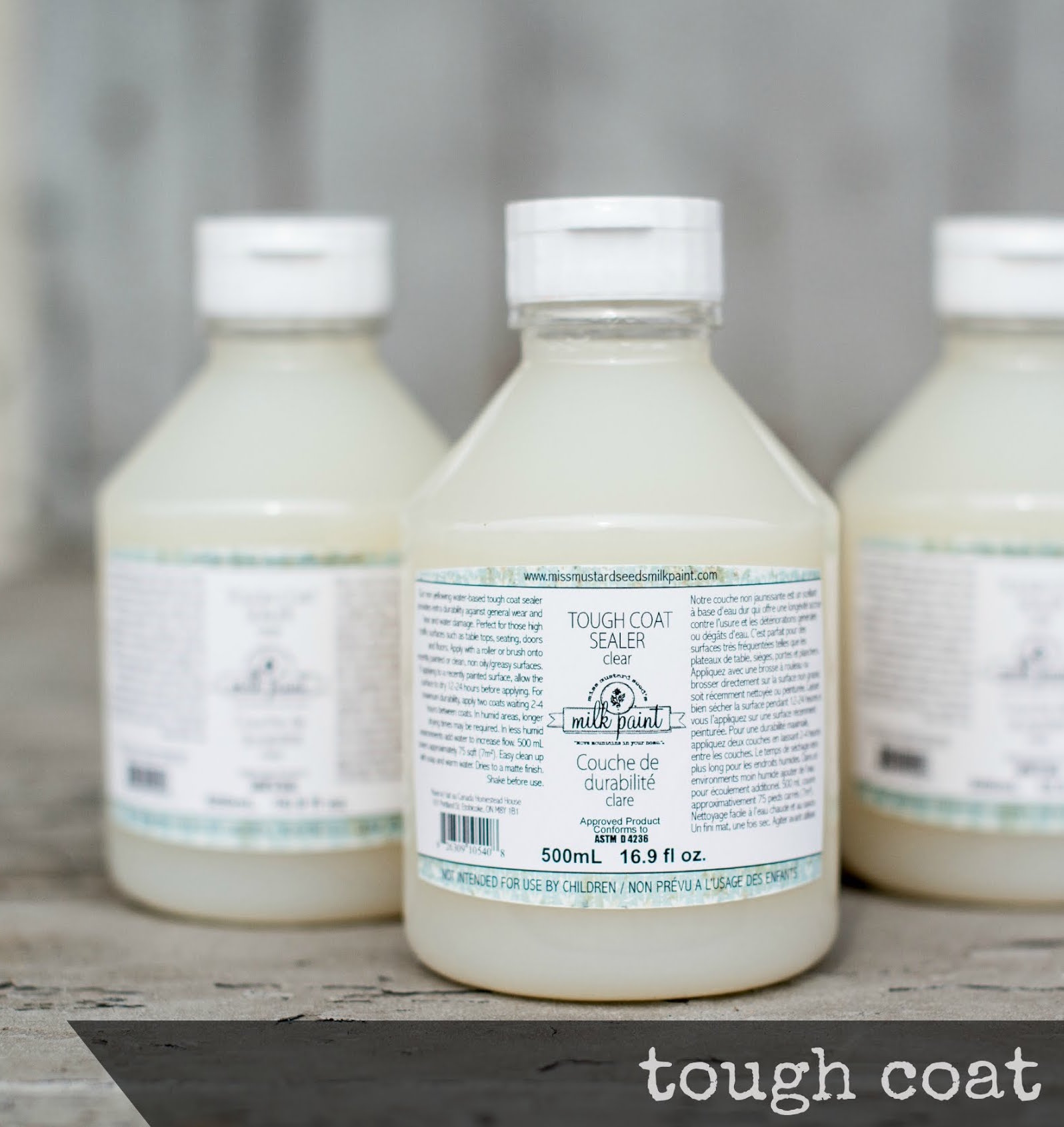 Tough Coat - Miss Mustard Seed Milk Paint