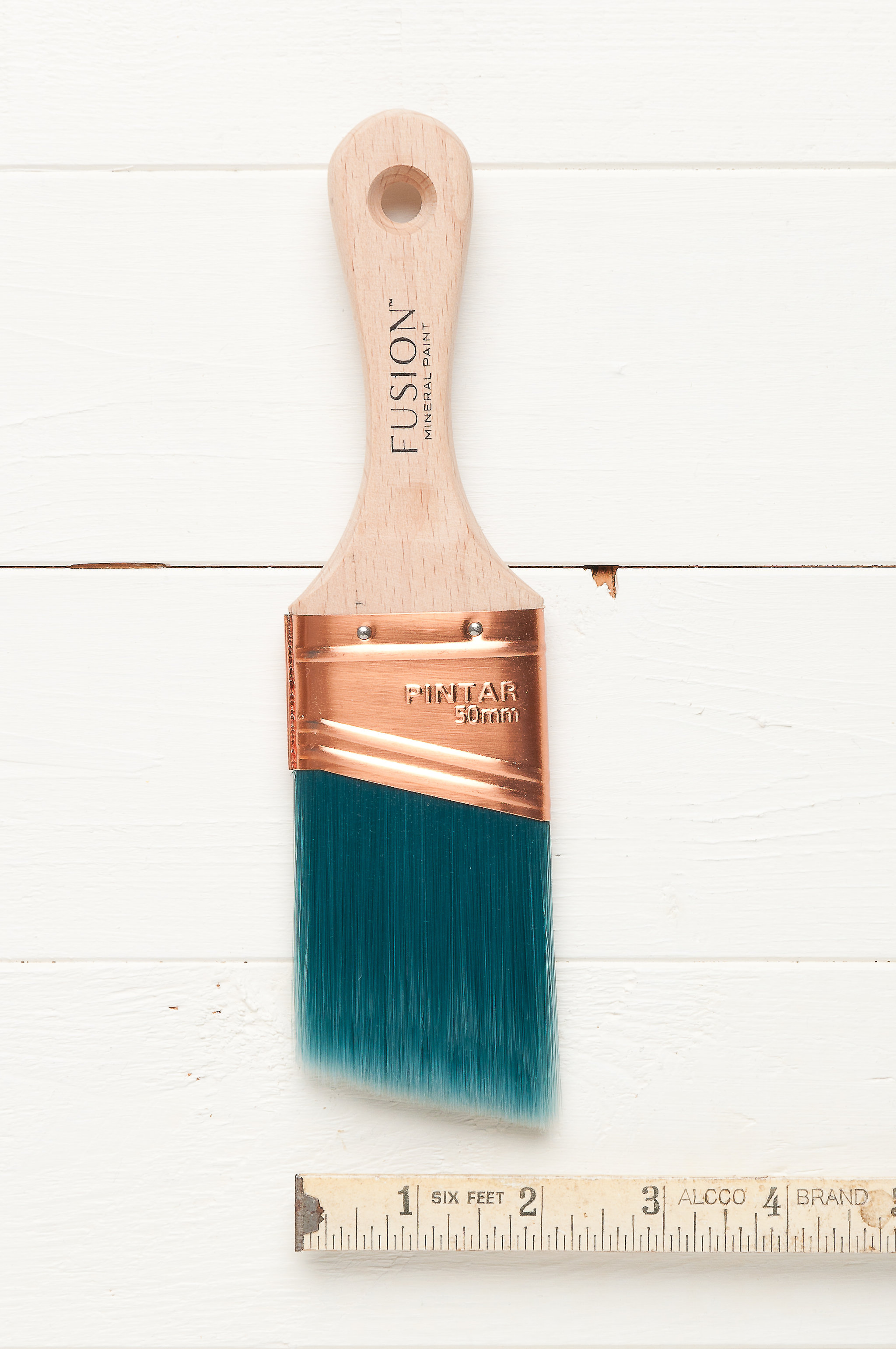 """Fusion Synthetic angled brush 2"""""""