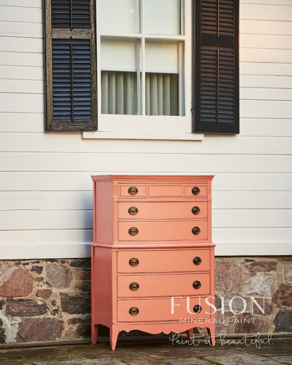 Fusion Mineral Paint Penney & Co Coral