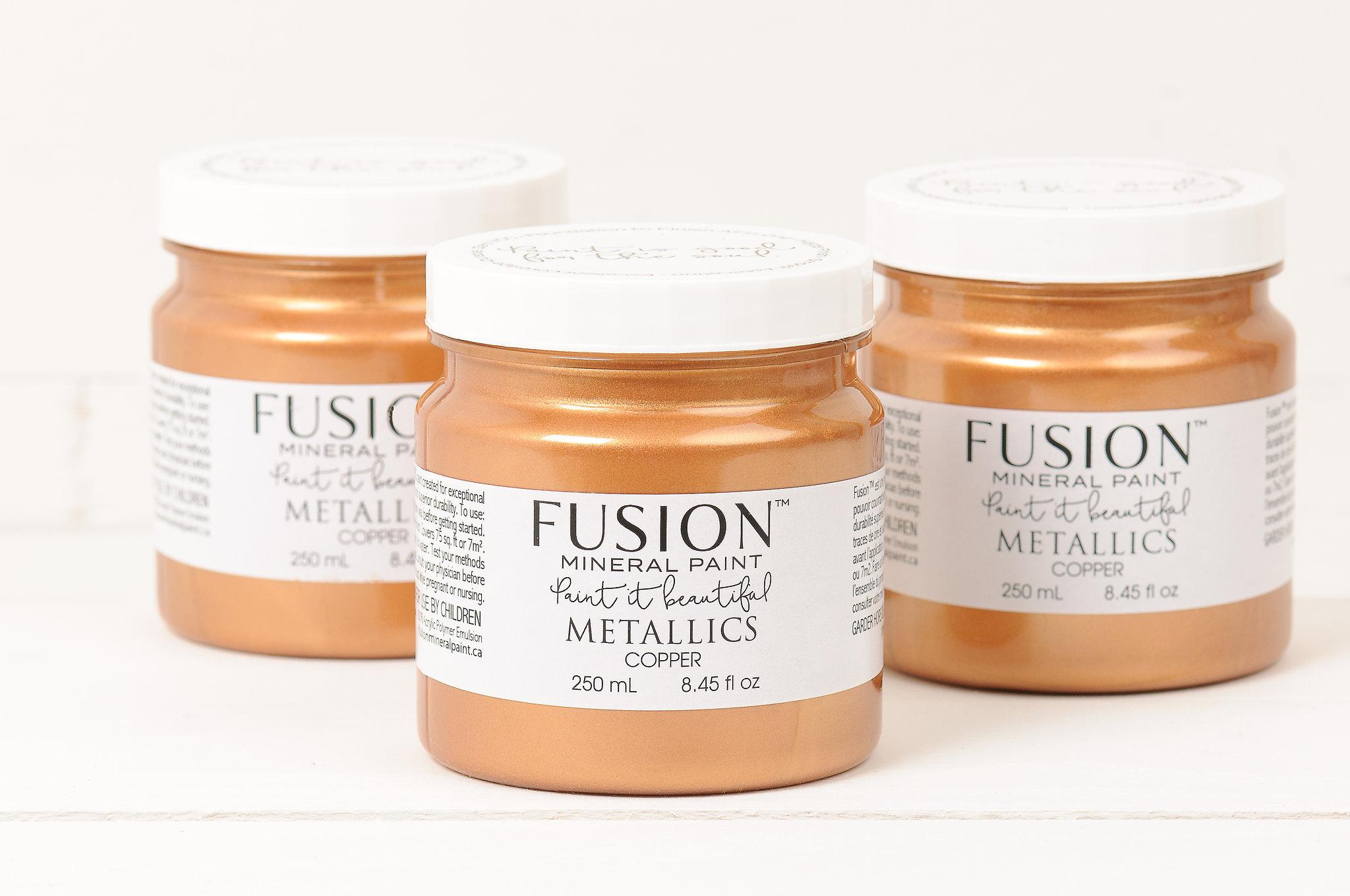 Fusion Metallic Copper