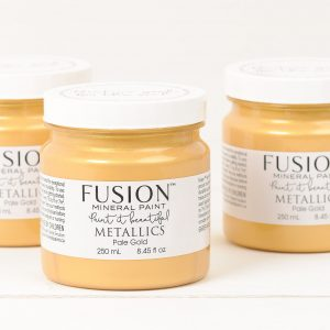 FUSION-METALLICS PALE GOLD