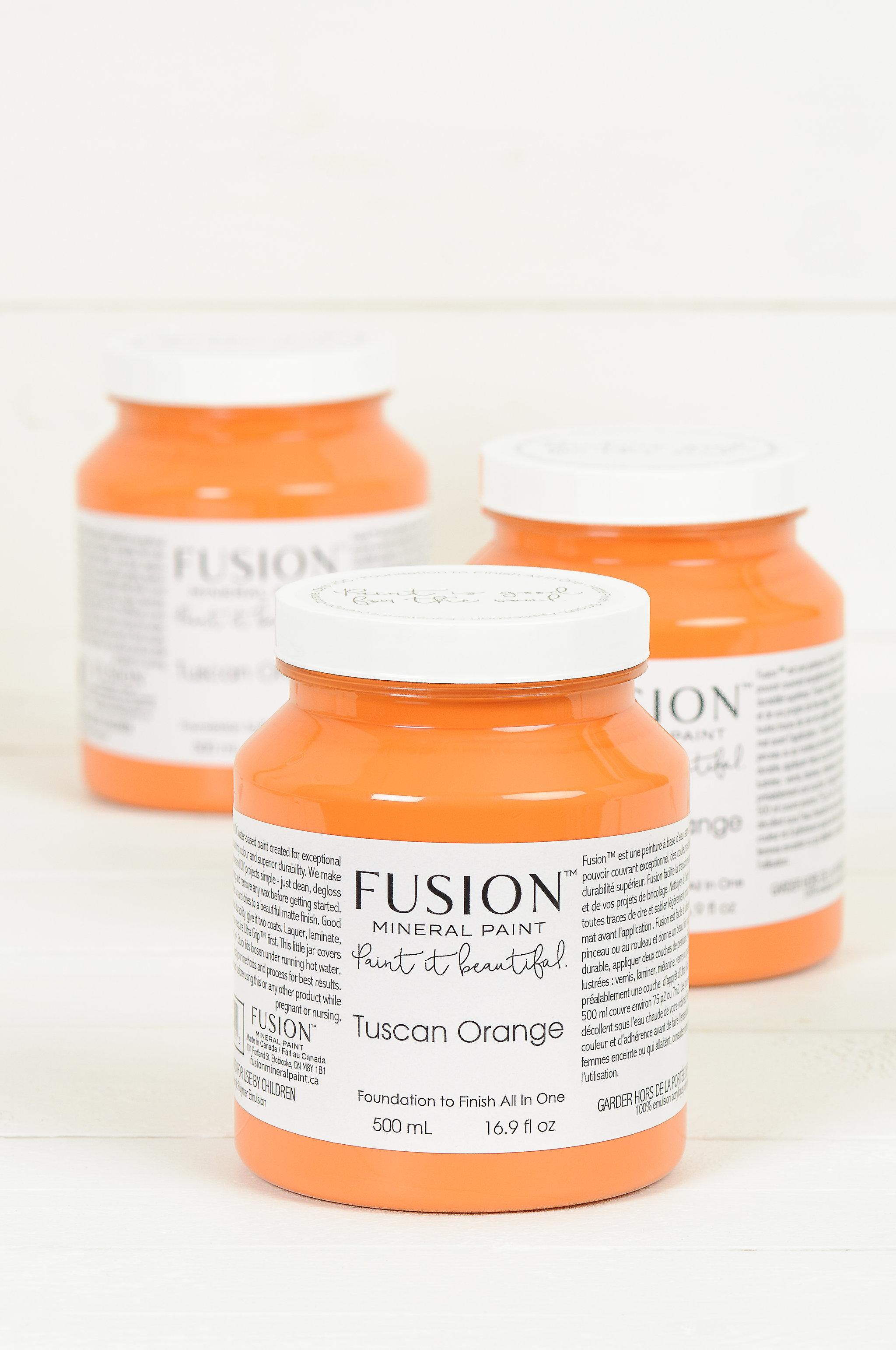 Fusion Mineral Paint Tuscan Orange
