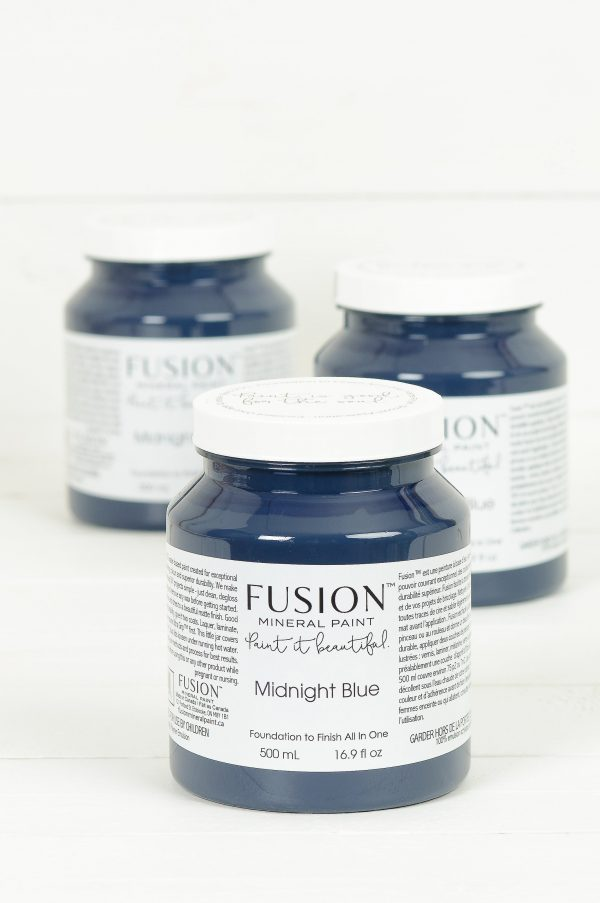 Fusion Mineral Paint Midnight