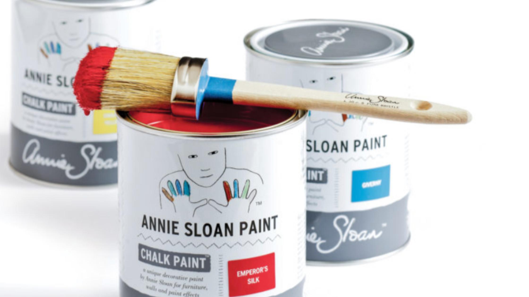Annie Sloan chalk paint can of paint