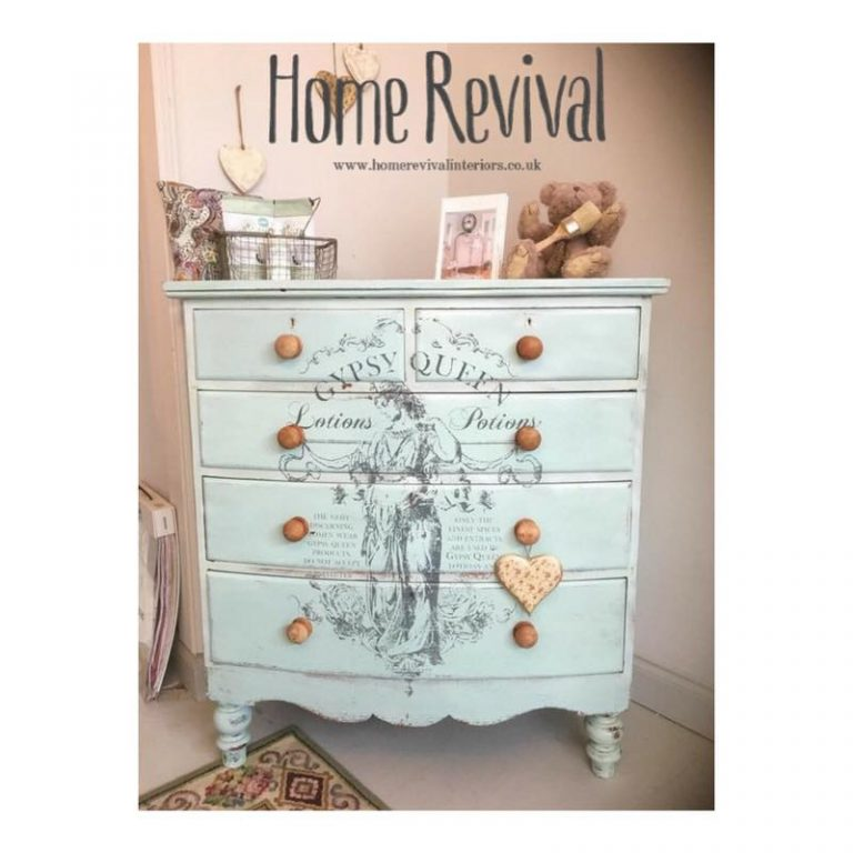 Gypsy Queen Victorian Chest of Drawers.