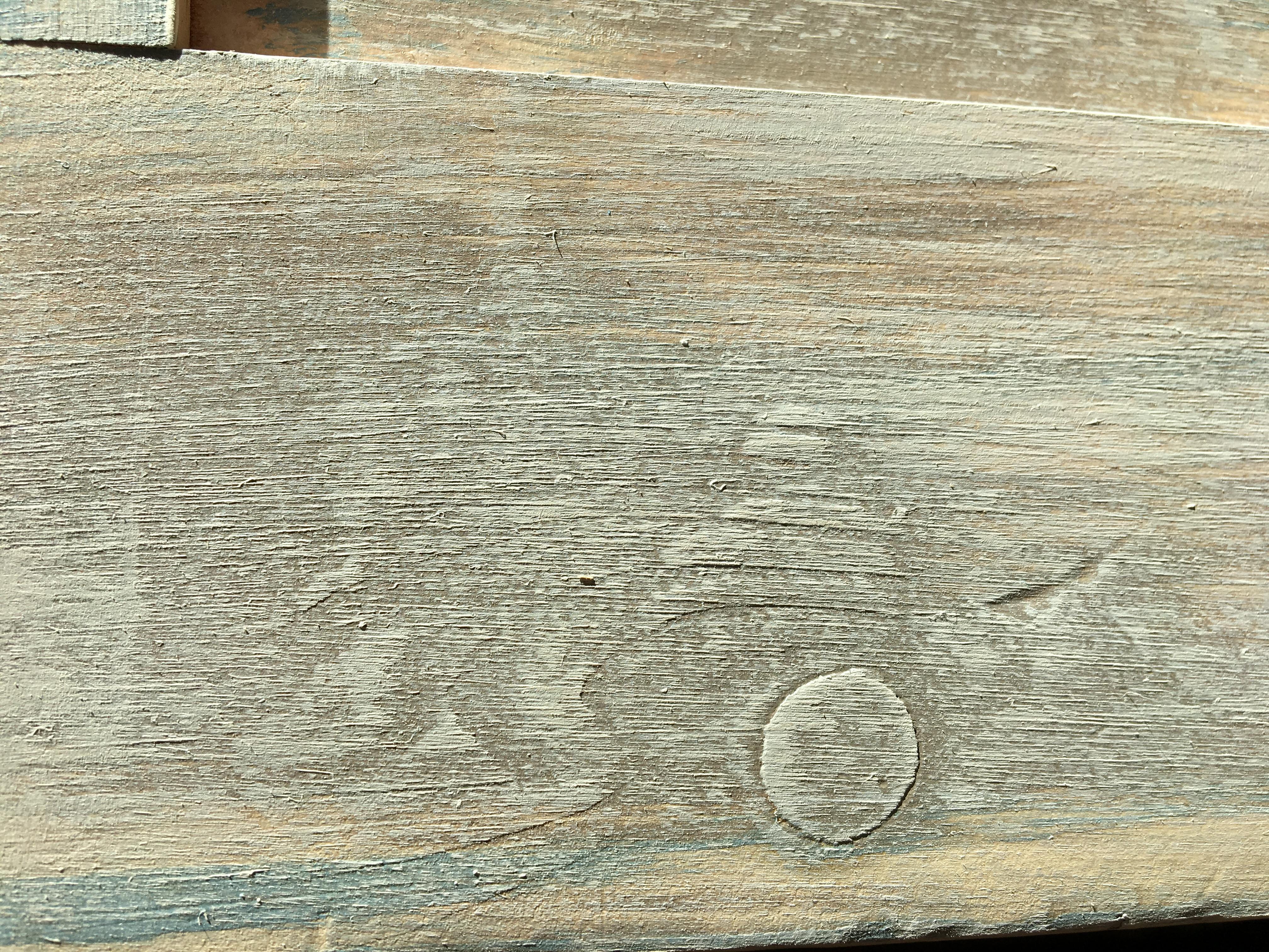 Kitchen Dresser Blended Dry brush technique.