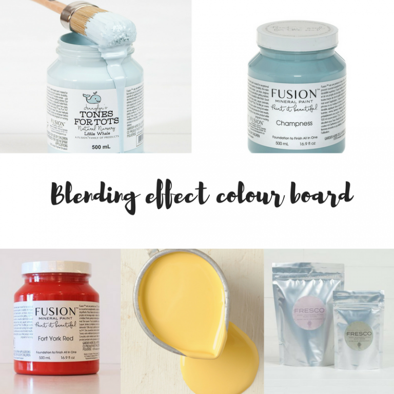 Colour Blending with Fusion Mineral Paint