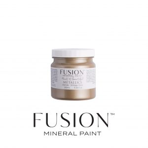 Vintage Gold metallic Fusion Mineral Paint
