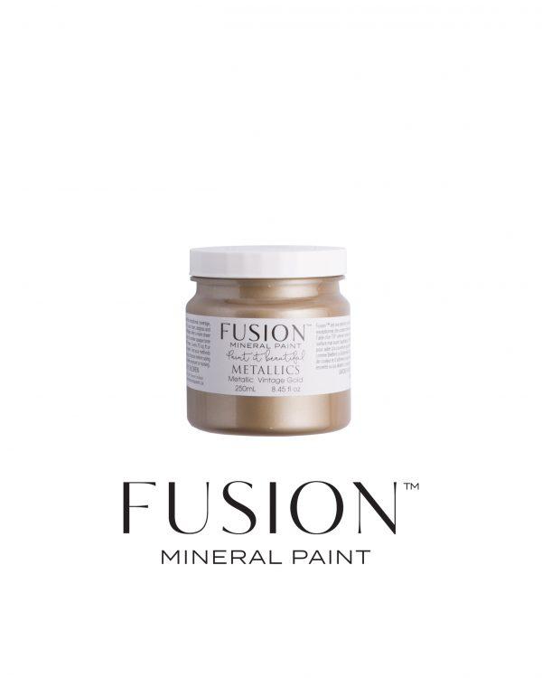 Vintage Gold metallic Fusion Mineral Paint