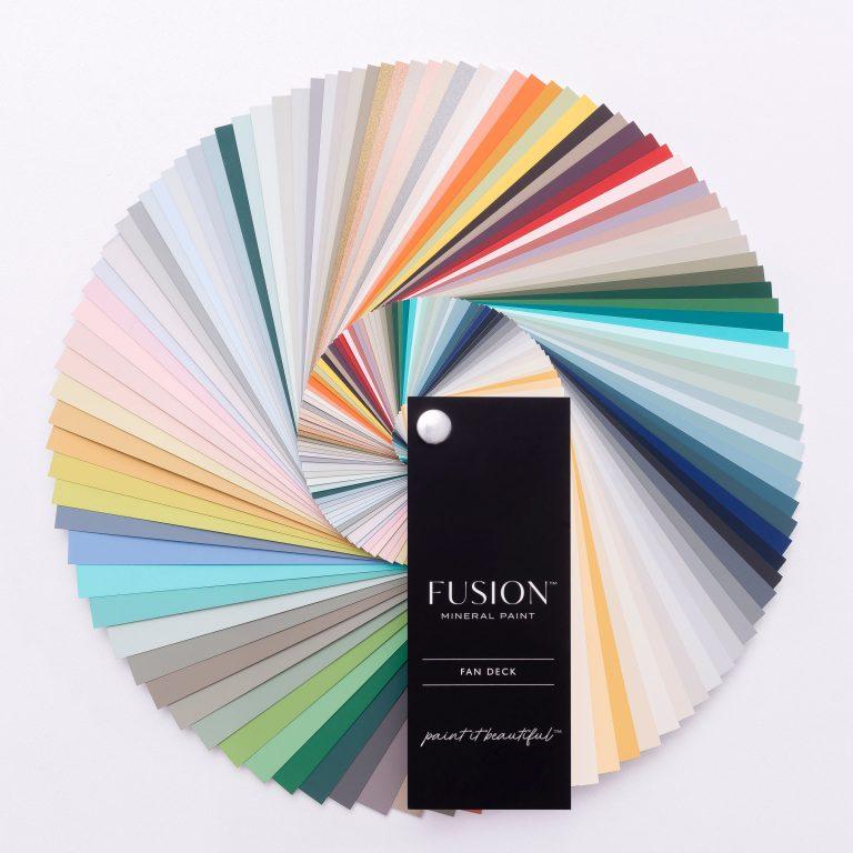 50 Fusion colours plus custom recipes!