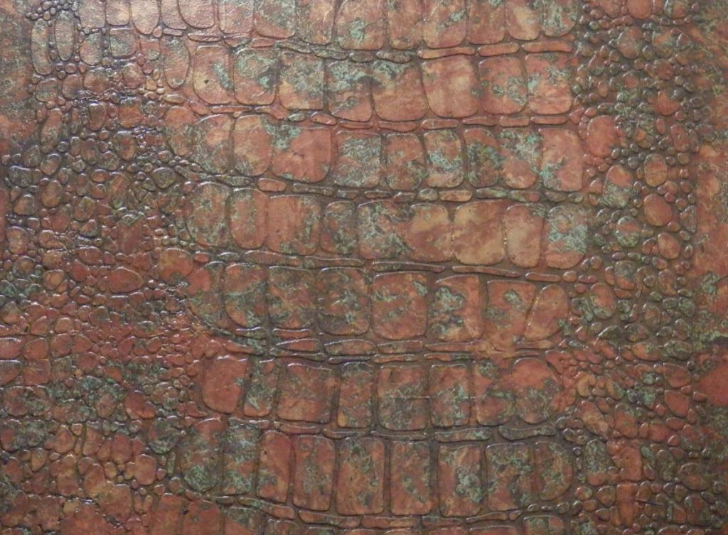 Crocodile multi coloured foil effect - Home Revival Interiors