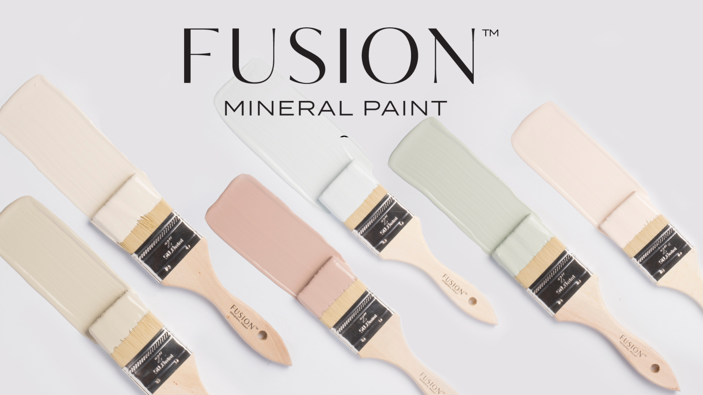 Paint stripe in Fusion Mineral Paint