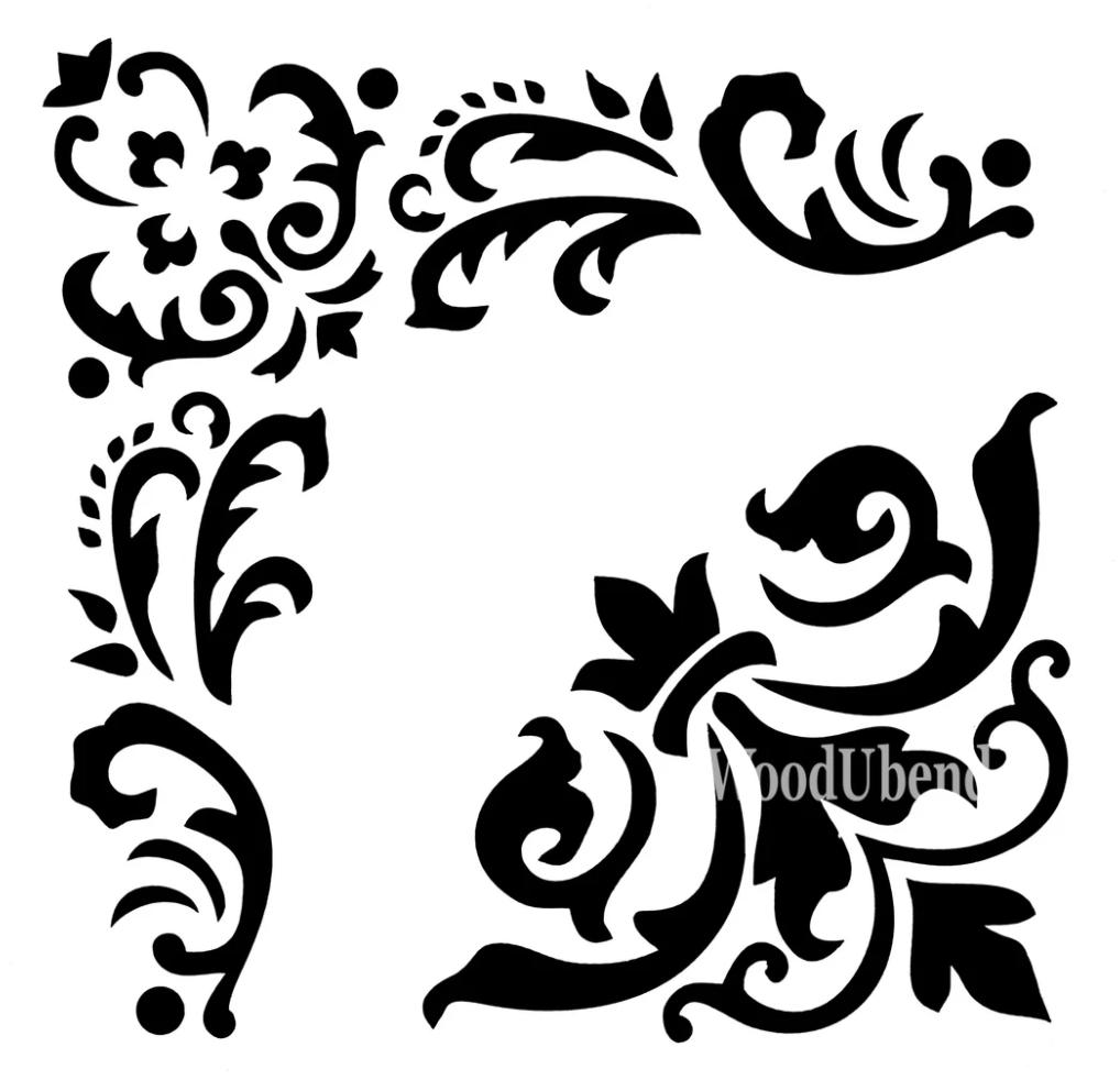 Vector of stencil
