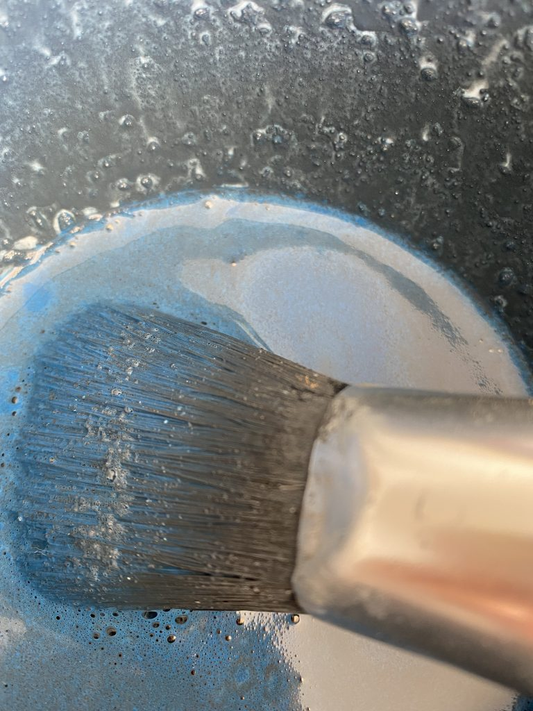 pigmented watery paint